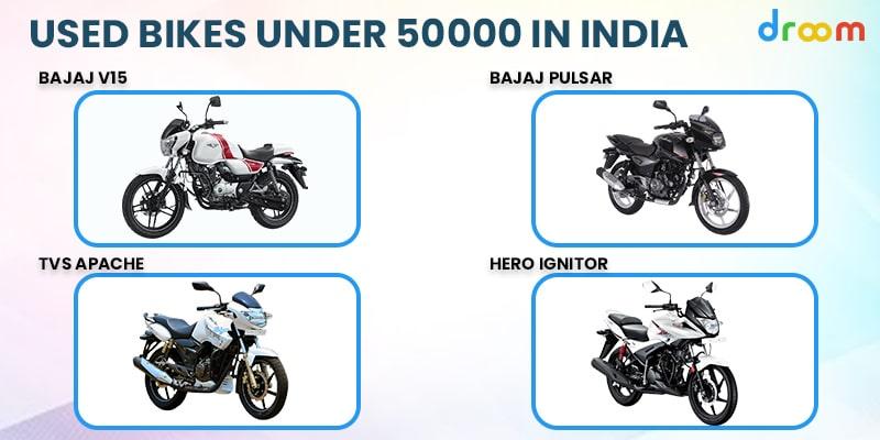 Used Bikes Under 50000