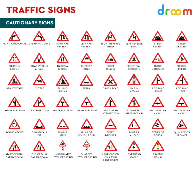 Cautionary Traffic Signs