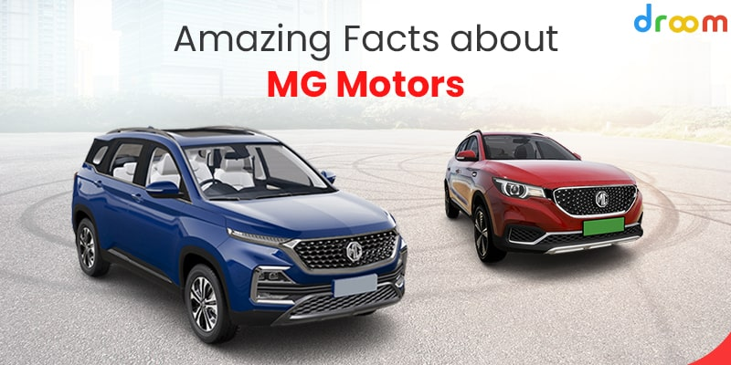 Facts about MG Motors